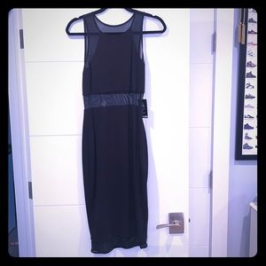 Midi Sheer Dress